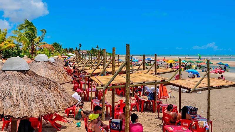 praia paripueira passeios fotos 21